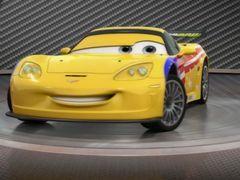 Cars 2: Showroom Turntable Jeff Gorvette