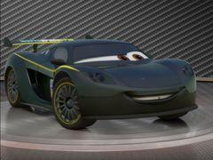 Cars 2: Showroom Turntable Lewis Hamilton