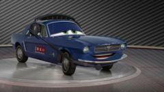 Cars 2: Showroom Turntable Brent Mustangburger
