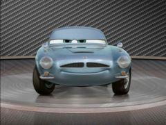 Cars 2: Showroom Turntable Finn Mcmissile