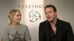 Passengers: Jennifer Lawrence And Chris Pratt On Being Excited To Work Together
