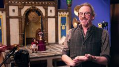 Early Man: Dave Alex Riddett On The Sets